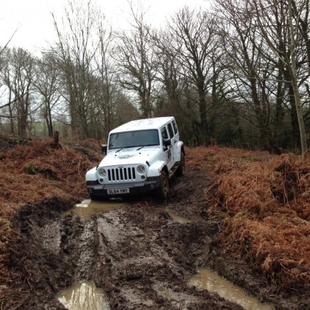 4x4 Off Roading Pencaitland, East Lothian